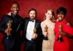 AMPAS - Premios Oscar - Academy Awards - Mahershala Ali - Casey Affleck - Emma Stone - Viola Davis
