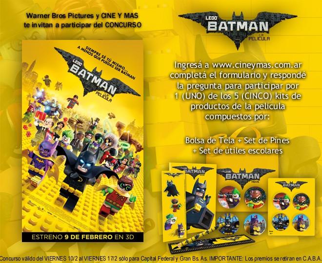 Concurso LEGO Batman