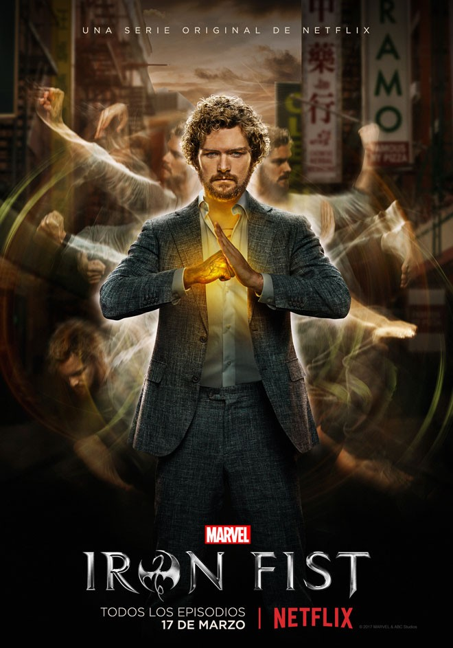 Netflix - Marvels Iron Fist - Arte