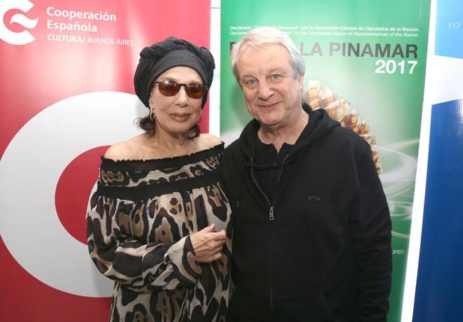 Pantalla Pinamar 2017 - Graciela Borges - Jorge Marrale