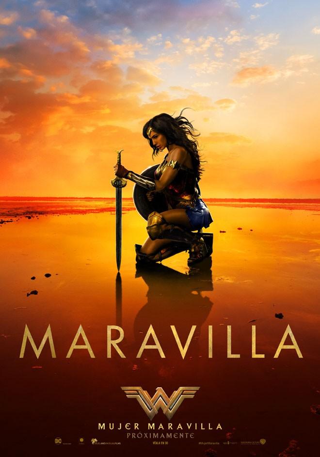 Warner Bros Pictures - Mujer Maravilla - Afiche