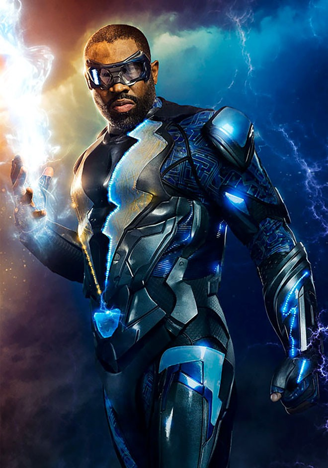 DC - Warner Bros TV - Cress Williams - Black Lighting - CW