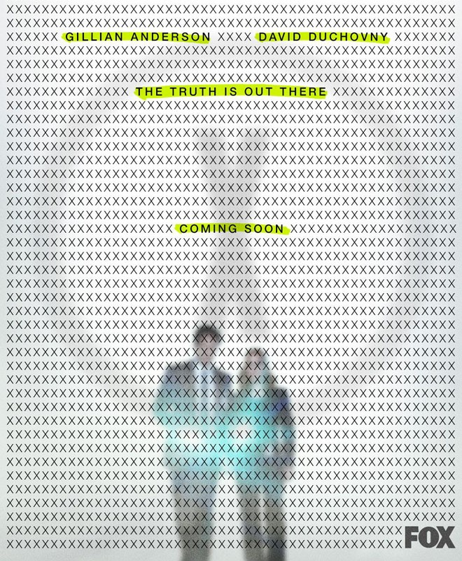 FOX - THe X-Files - Temporada 11 - Season 11 - Poster