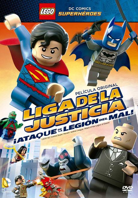 SBP Worldwide - Transeuropa - Liga de La Justicia Lego - Ataque de la Legion del Mal
