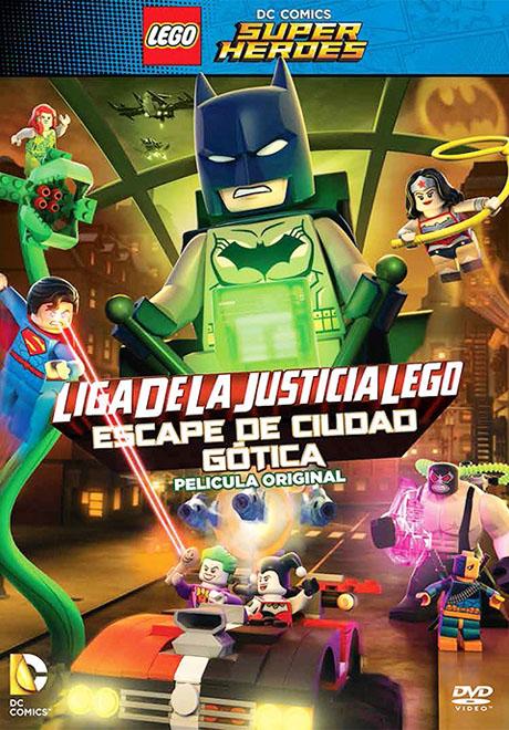 SBP Worldwide - Transeuropa - Liga de la Justicia Lego - Escape de Ciudad Gótica