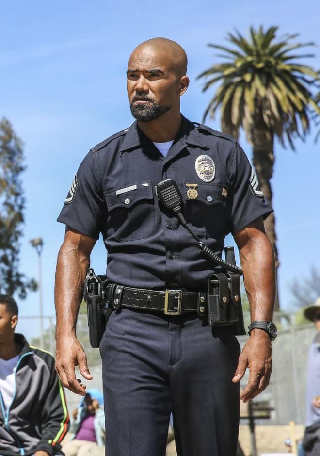 CBS - SWAT - Shemar Moore - Daniel Hondo Harrelson-