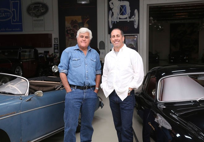 History - El Garage de Jay Leno - Jay Lenos Garage - Temp 2 - Jerry Seinfeld