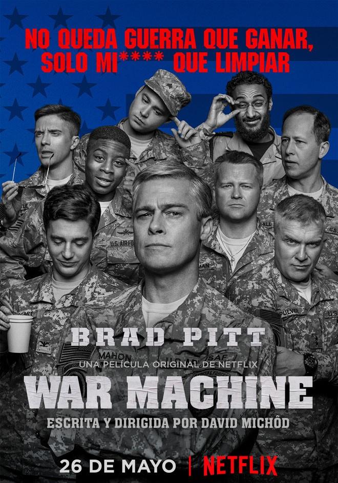 Netflix - War Machine - Arte