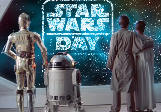 WDSMP - Star Wars Day - Mayo the Fourth Be With You