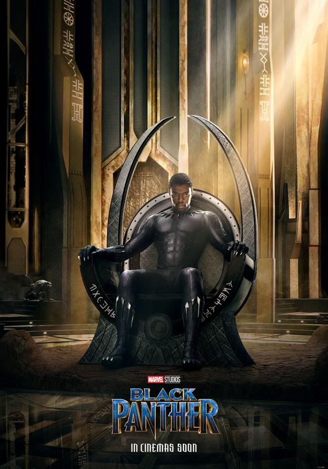 Marvel - Pantera Negra - Black Panther - Teaser Poster