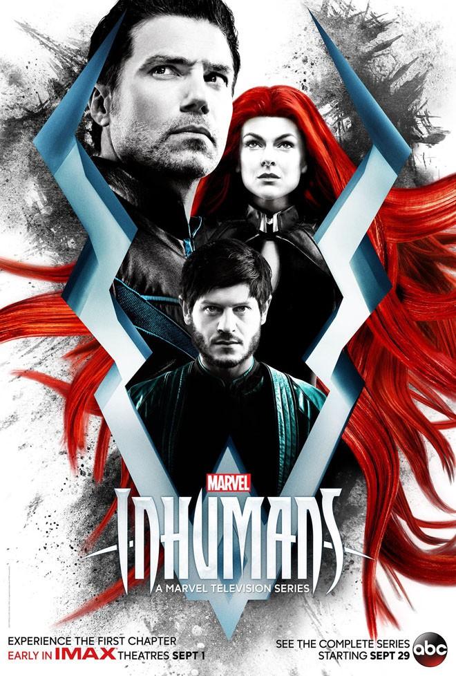 Marvel - abc - Inhumans - Inhumanos - Poster