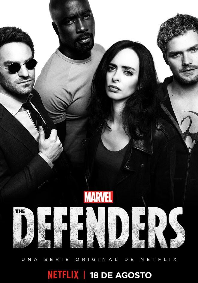 Netflix - The Defenders - Arte Principal