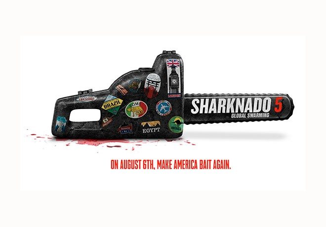 Syfy - Sharknado 5 - Global Swarming