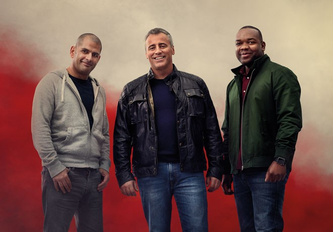 Discovery Channel - Top Gear - Temp 23 - Matt LeBlanc - Chris Harris - Rory Reid 1