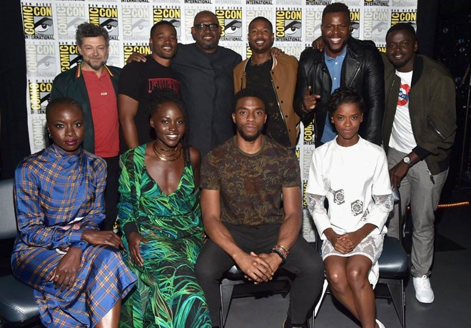 Marvel - WDSMP - Pantera Negra - Black Panther - San Diego Comic-Con - Panel