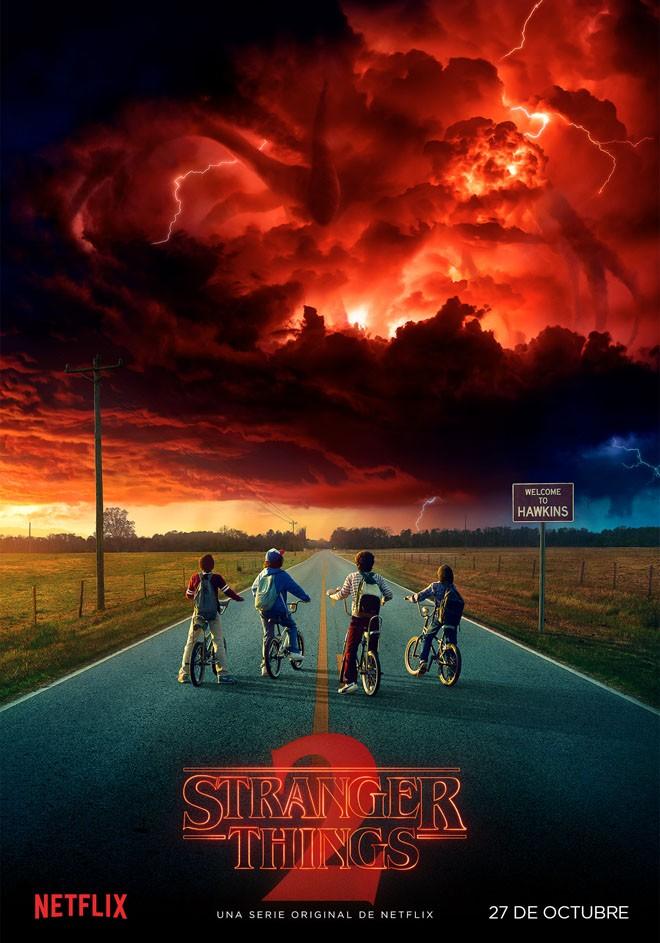 Netflix - Stranger Things 2 - Poster
