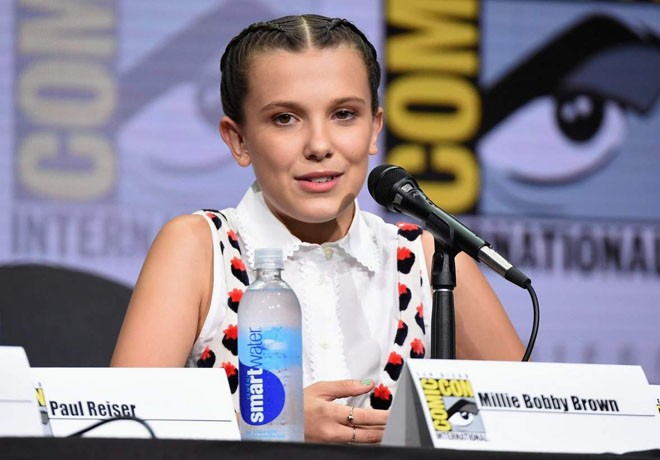 Netflix - Stranger Things 2 - San Diego Comic-Con - Millie Bobby Brown