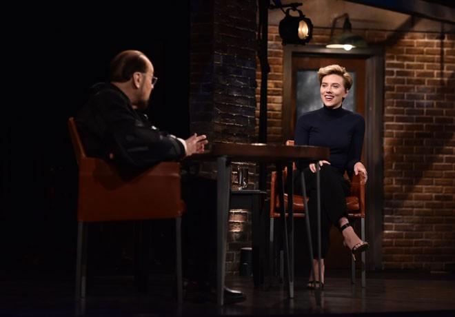 Film And Arts - Inside the Actors Studio - Scarlett Johansson