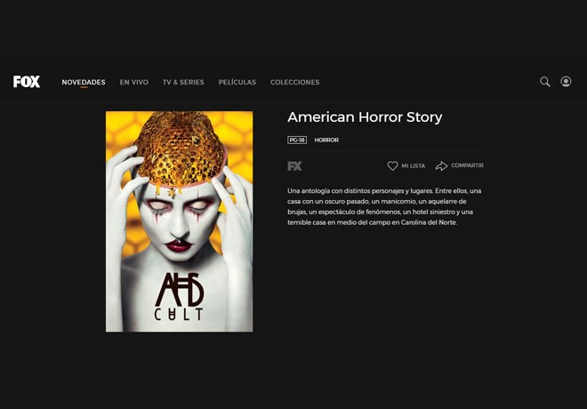 Fox Play - American Horror Story