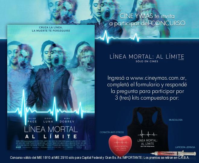 Concurso Linea Mortal 3
