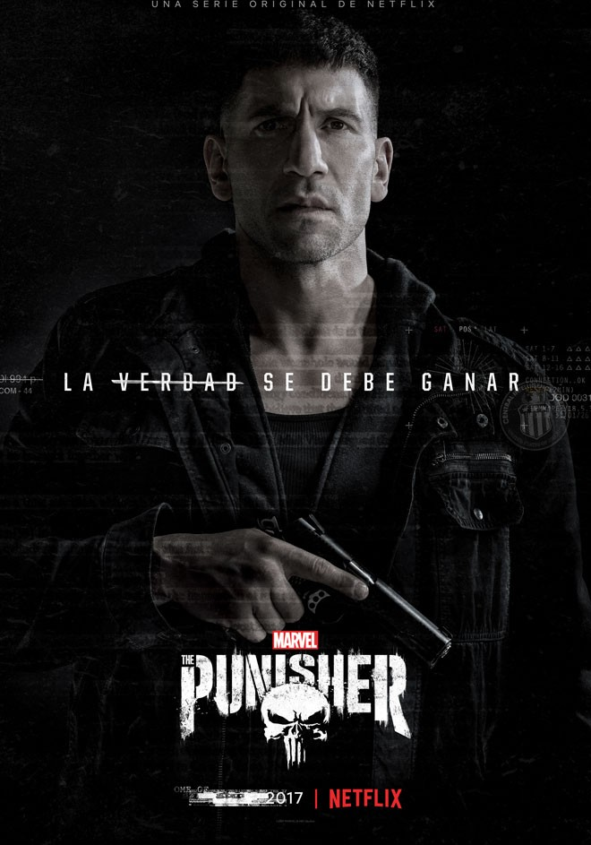 Netflix - Marvels The Punisher - Arte