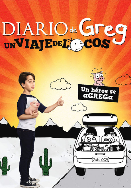 SBP Worldwide - Transeuropa - Diario de Greg Un Viaje de Locos - Diary of a Wimpy Kid - The Long Haul
