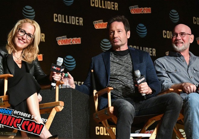 The X-Files - Los Expedientes Secretos X - Temp 11 - New York Comic-Con