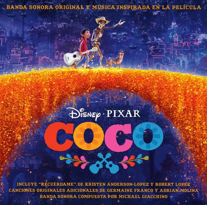 WDSMP - Walt Disney Records - Disney Pixar - Coco - Banda de Sonido Original