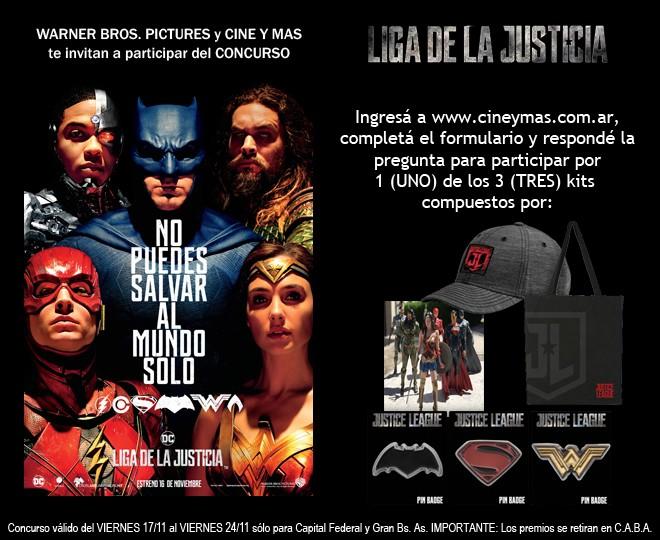 Concurso Liga de la Justicia