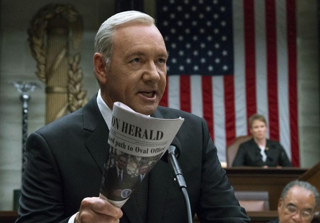 Netflix - House of Cards - Kevin Spacey Suspendido - Despedido