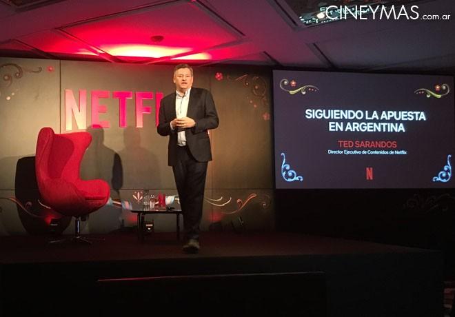 Netflix - Ted Sarandos - Director Ejecutivo de Contenidos