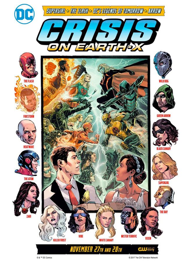 The CW - Warner Channel - Crisis en Tierra X - Crisis on Earth X - Comic