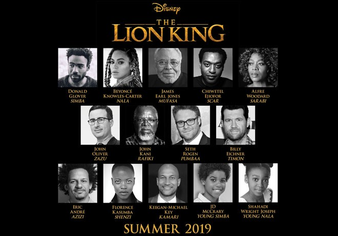 WDSMP - El Rey Leon - The Lion King - Cast - Reparto