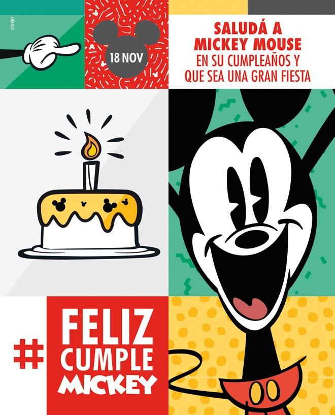Walt Disney Studios - Disney Channel - Mickey Mouse - Cumpleanos