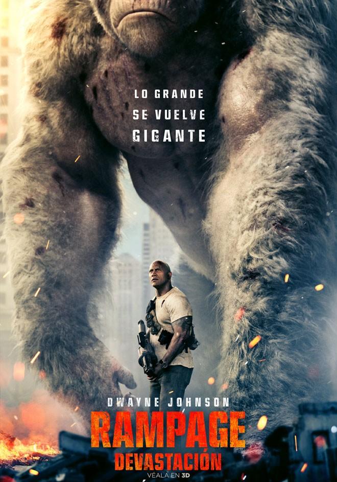 Warner Bros Pictures - Rampage - Devastacion