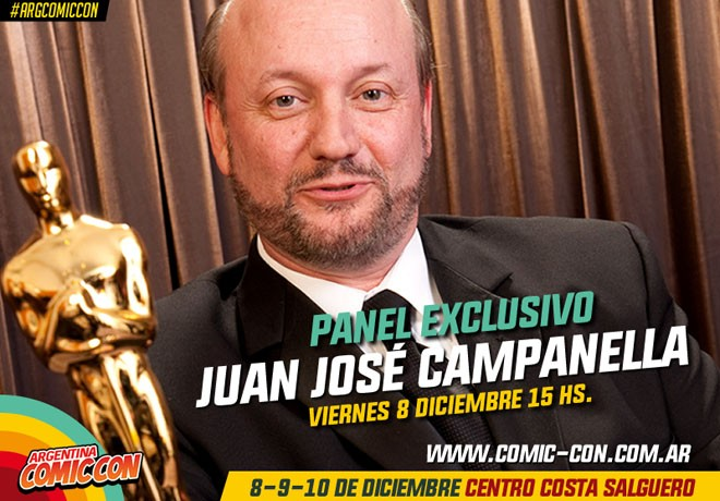 Argentina Comic-Con - Juan Jose Campanella 2