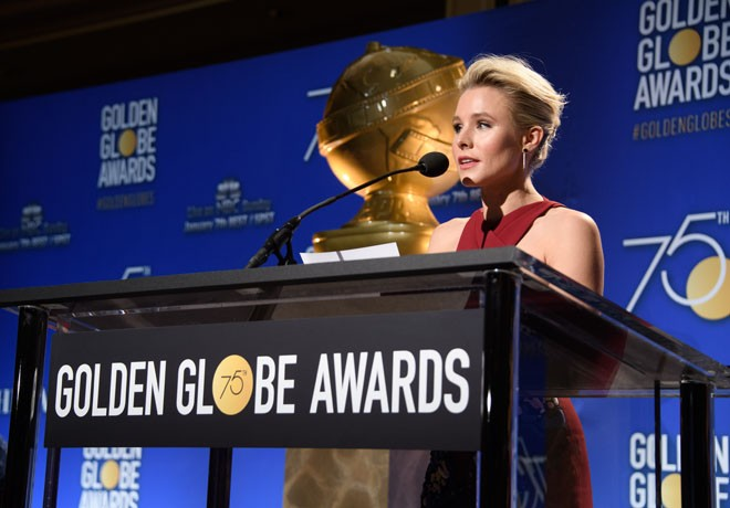 HFPA - Globos de Oro - Golden Globe Awards - Kristen Bell