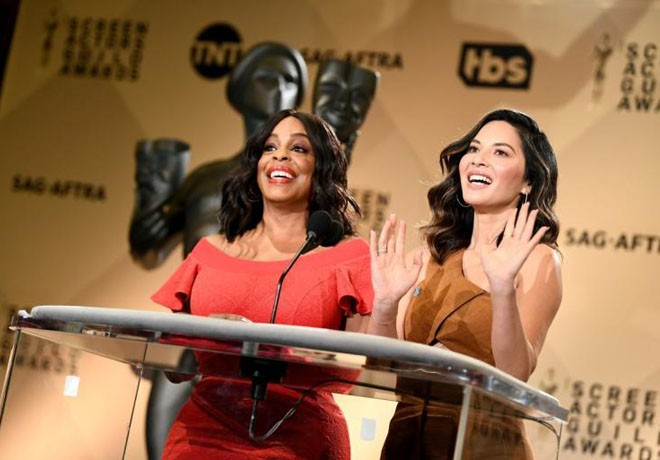 Premios SAG - Screen - Actors Guild Awards - SAG Awards - Niecy Nash - Olivia Munn