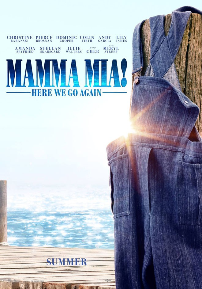 Universal Pictures - Mamma Mia - Here We Go Again - Teaser Poster