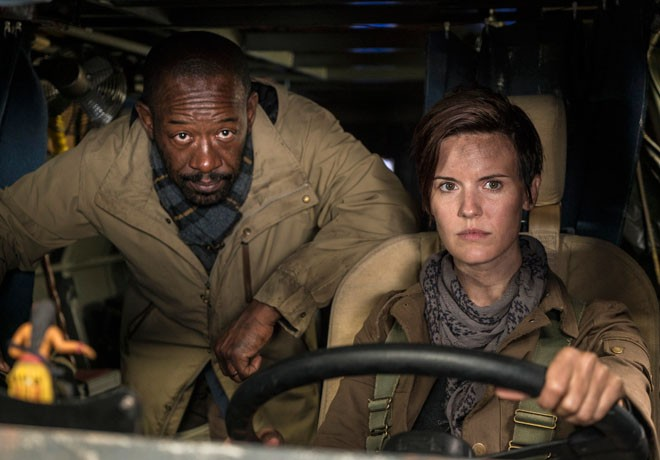 AMC - Fear the Walking Dead - Lennie James - Maggie Grace