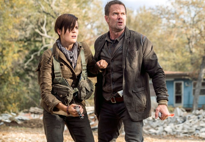 AMC - Fear the Walking Dead - Maggie Grace - Garret Dillahunt