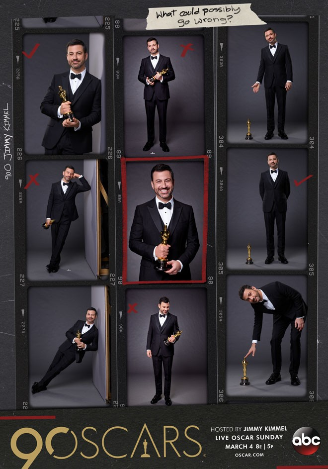 AMPAS - The Oscars - Jimmy Kimmel - Key Art