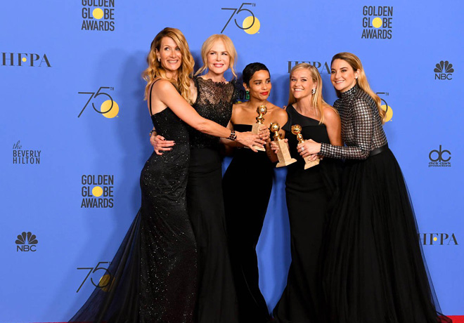 HFPA - Golden GLobes - Globos de Oro - Big Little Lies