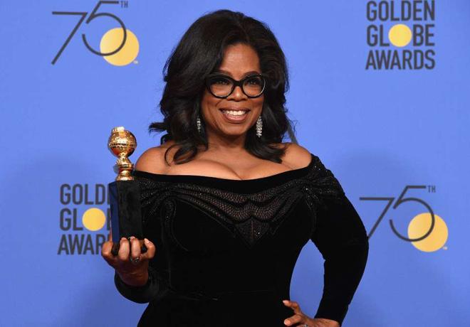 HFPA - Golden GLobes - Globos de Oro - Oprah Winfrey