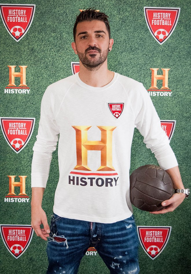 History - La Historia del Futbol - History of Football - David Villa