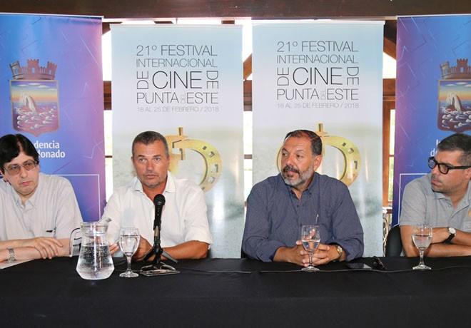 21 Festival de Cine de Punta del Este - Jorge Jellinek - Martin Papich - Jorge Céspedes - Valentín Trujillo