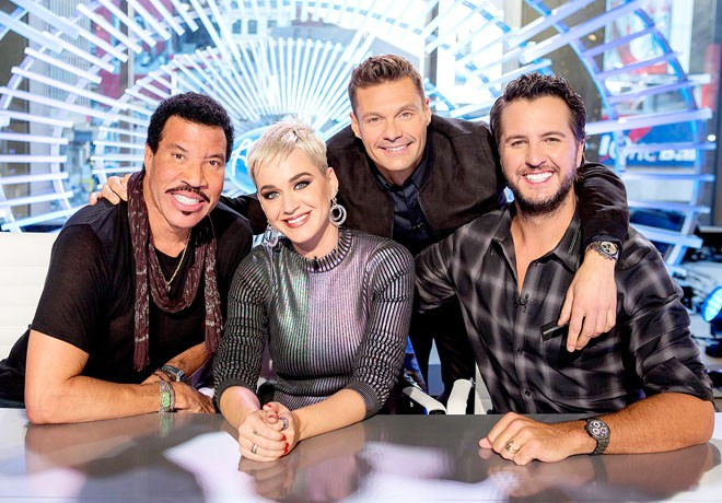 ABC - Canal Sony - American Idol - Temp 16 Lionel Richie - Katy Perry - Ryan Seacrest - Luke Bryan