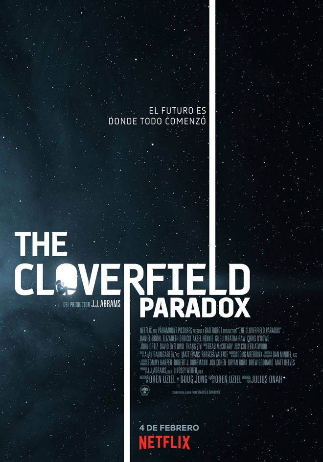 Netflix - The Cloverfield Paradox - Key Art