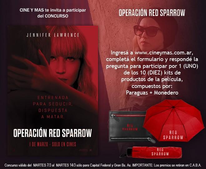 Concurso Operación Red Sparrow