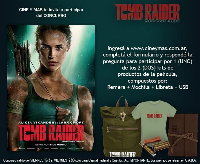 Concurso Tomb Raider - Las Avnturas de Lara Croft
